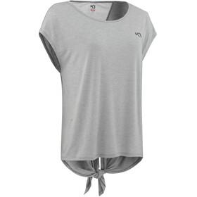 Kari Traa Celina Lyhythihainen T-paita Naiset, grey melange